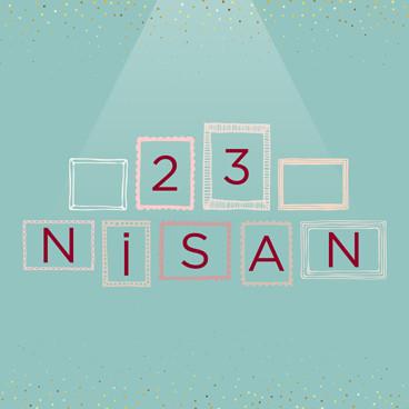 23 Nisan Neşe Doluyor İnsan